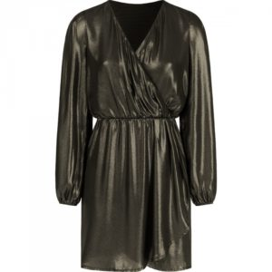 Dila dress gold Most Wanted Reindersfoodfashion most wanted kleding kopen