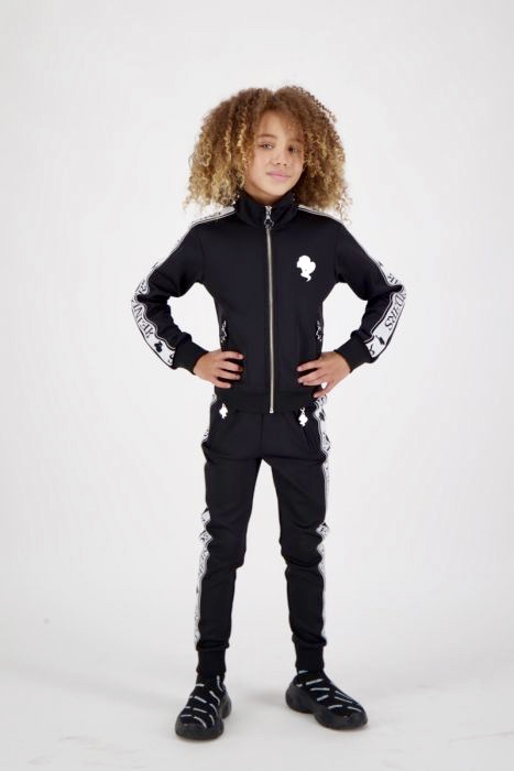 kids tracking pants zwarttracking vest kids Reinders zwart