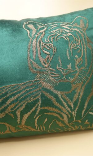 Cushion Tiger Green