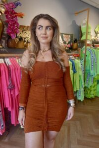 Joanna two piece rust