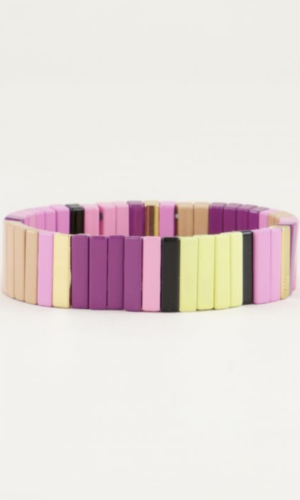 armband multi color kralen