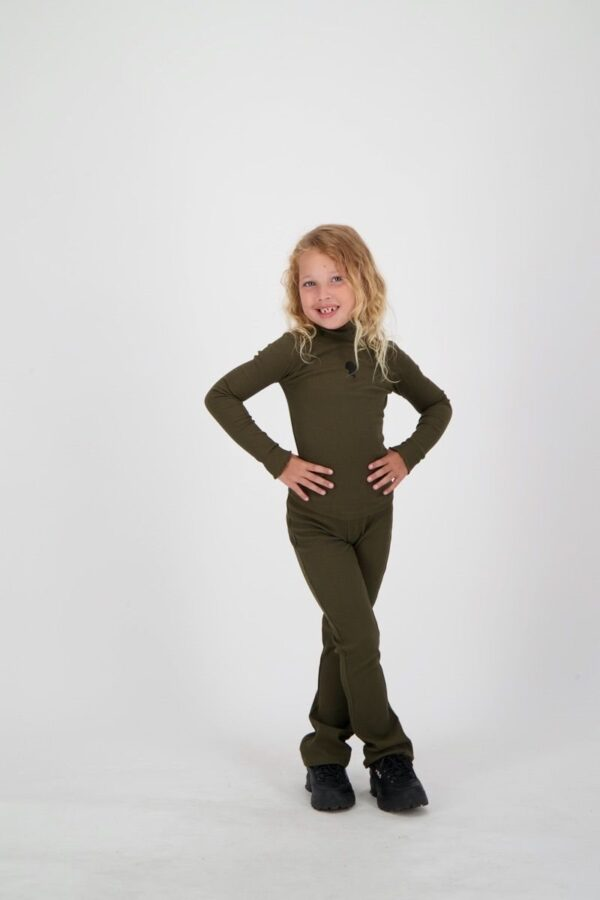 Mandy Pants Kids Olive