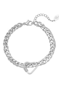 Bracelet Chained Heart