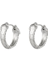 Earrings Panther Heads Silver