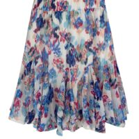 Skirt Emily Multicolor Blue
